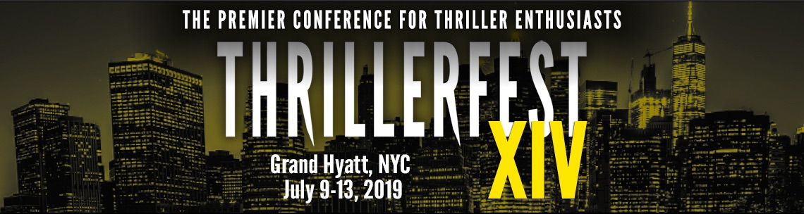 James Rollins attends Thrillerfest 2019